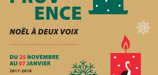Exposition : Alsace - Provence, Noël à deux voix