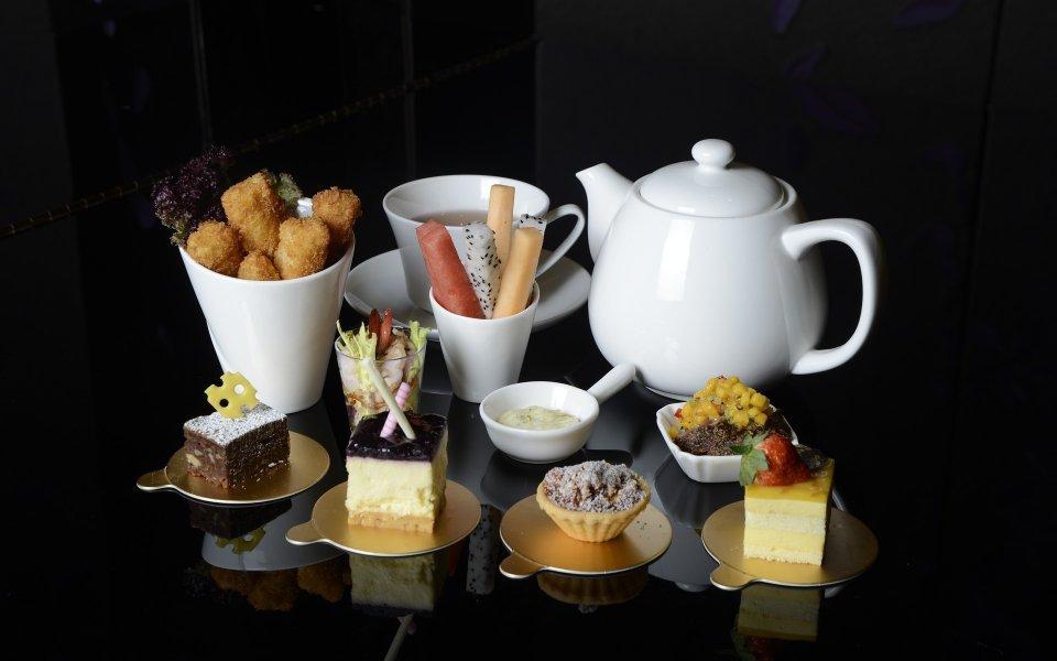 Salon de thé, pâtisseries